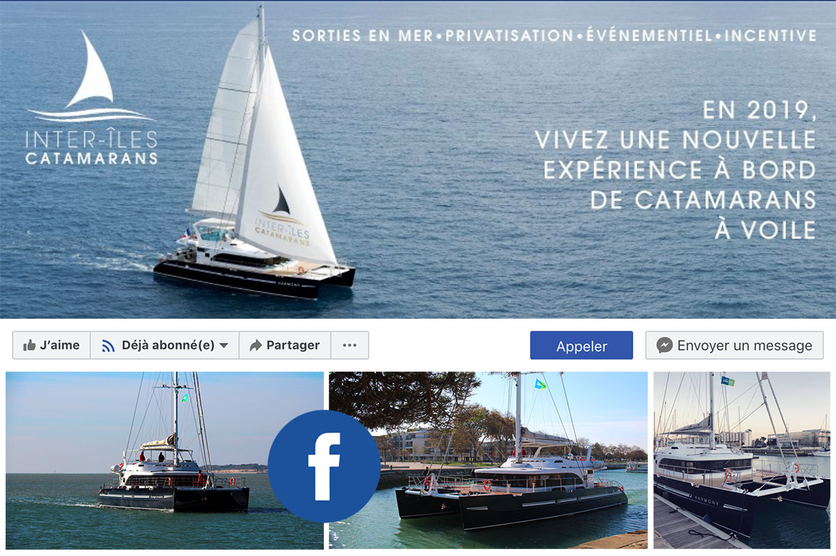 Facebook Inter-îles Catamarans