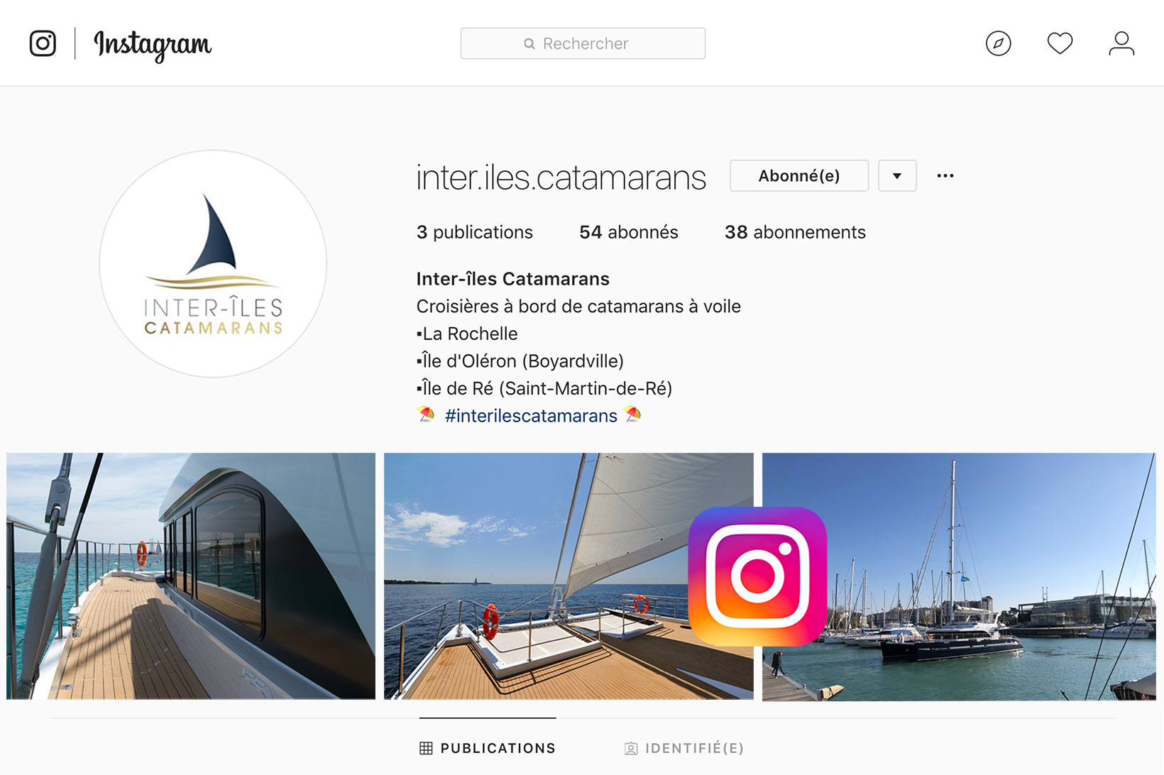 Instagram Inter-îles Catamarans
